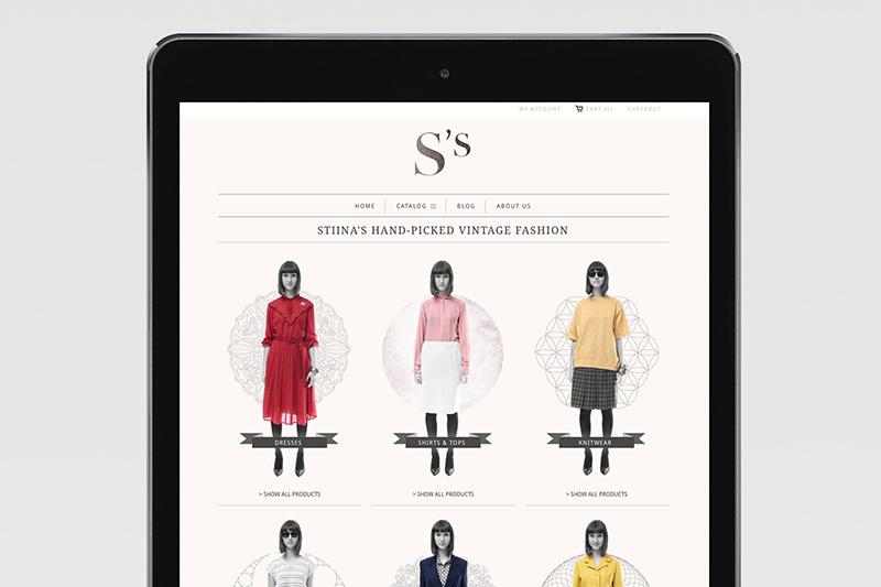Stiina's Vintage / Identity, Web